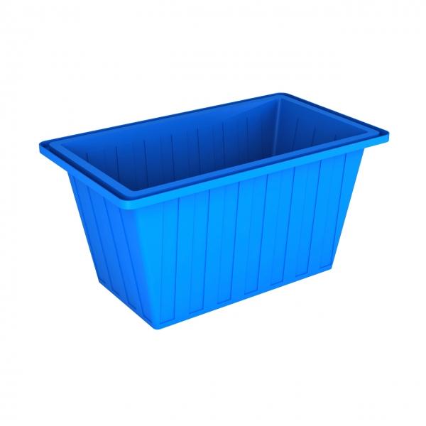 Прямоугольная,пластиковая ванна(новая),объёмом четыреста литров,для пищевых продуктов и питьевой воды,удобная,рабочая высота,по самой  выгодной цене в Москве,