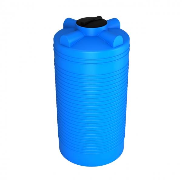Новая пластиковая ёмкость с удобной высотой,объём тысячу литров,небольшая ширина,позволяет занести в дверной проём,подходит для воды и топлива,дёшево в Москве.