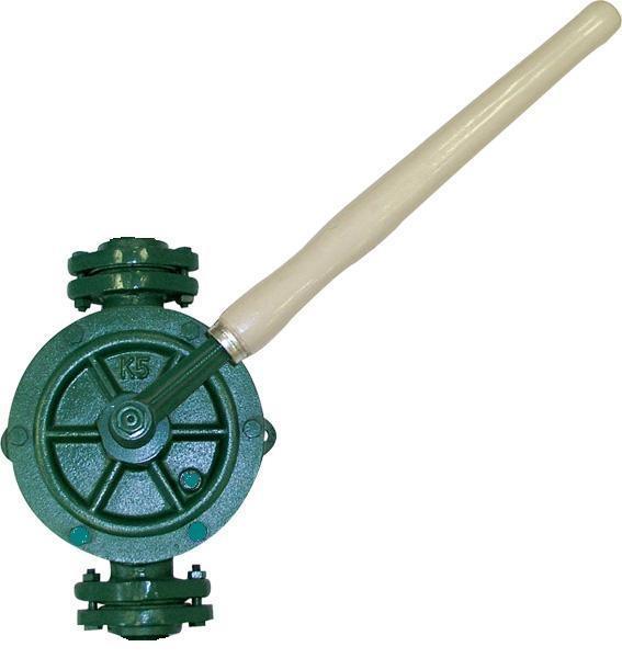 Надёжный и производительный насос, предназначенный для перекачки топлива из бочки.