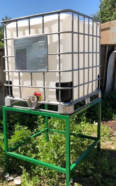 Подставка из металлического каркаса под еврокуб для повышения давления и быстрого прогрева воды в ёмкости,надёжное качество сварного шва,по выгодной цене в Москве.
