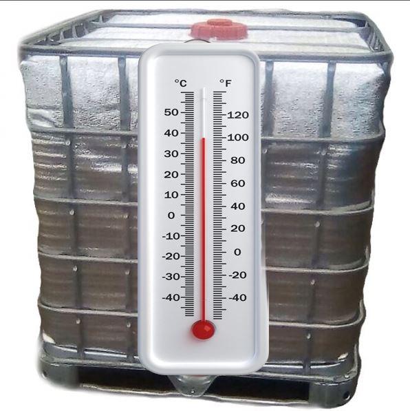 Еврокуб 1000 л, новый с подогревом 2 тэна и утеплением (поддон металл/пластик)