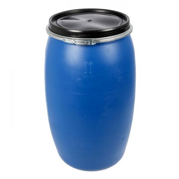 Бочка пластиковая,новая объёмом двести двадцать семь литров для питьевой воды,в теплицу для полива  по самой низкой цене в Москве