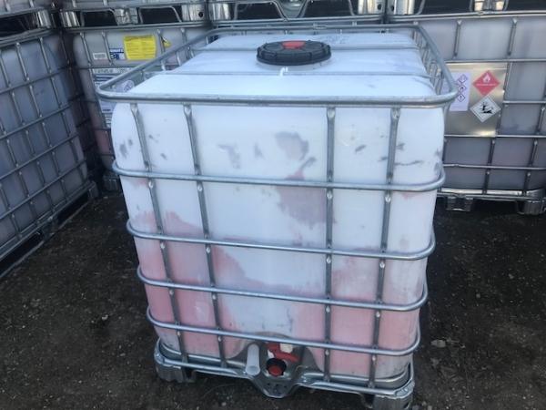 Еврокуб 1000 л, б/у,из под тех.веществ,частично промытый