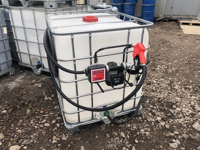 Мини АЗС из Еврокуба (220 В) с фильтром- сепаратором (Испания)