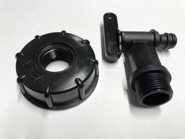 Пластиковый кран PLASTIC TAP (2х3/4)
